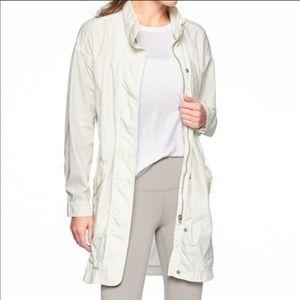 Athleta Organic Cotton Vista parka Jacket Large